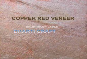 red color copper red micro thin stone veneer